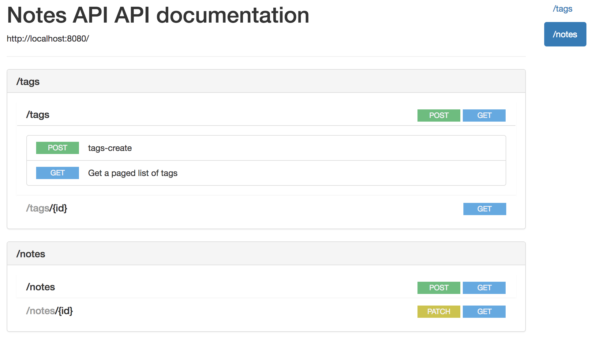 RESTful API documentation with Spring REST Docs and RAML